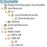 How to Download PDF File in Servlet