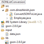 How to Convert JSON to List in Java