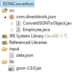 How to Convert JSON to Object in Java