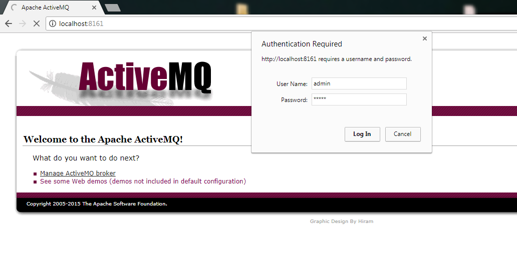 How to start the ActiveMQ server in Windows